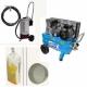 Arenadora de precisión 10 litros + compresor 3 cv